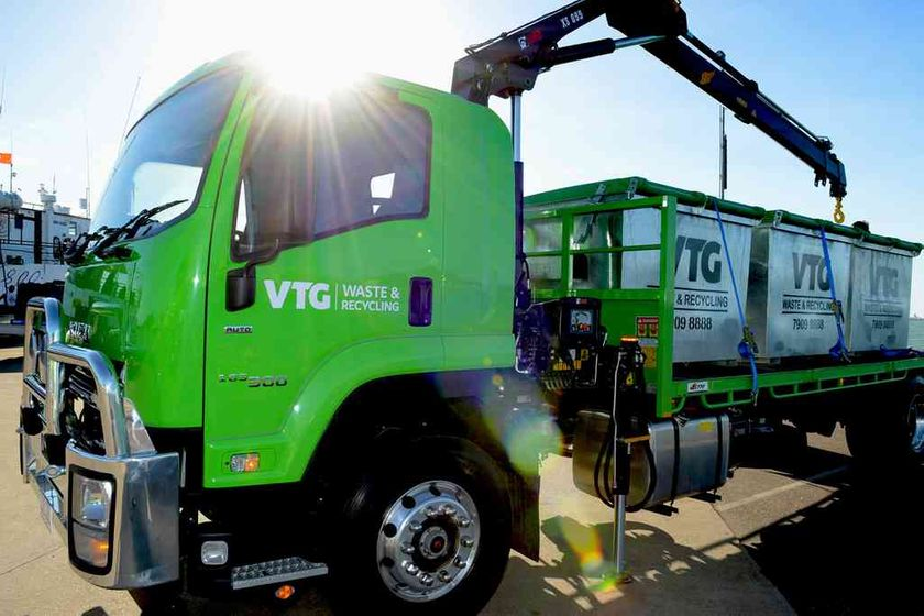 VTG WASTE & RECYCLING truck