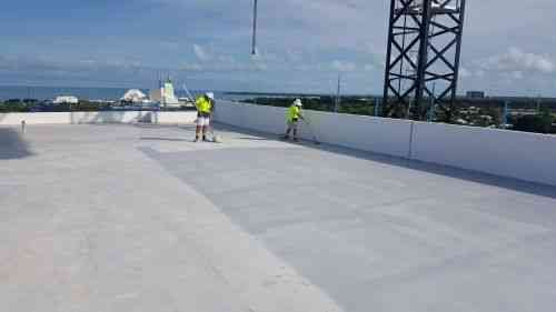 Roof painting and sealing