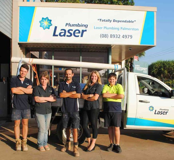 The Laser Plumbing team