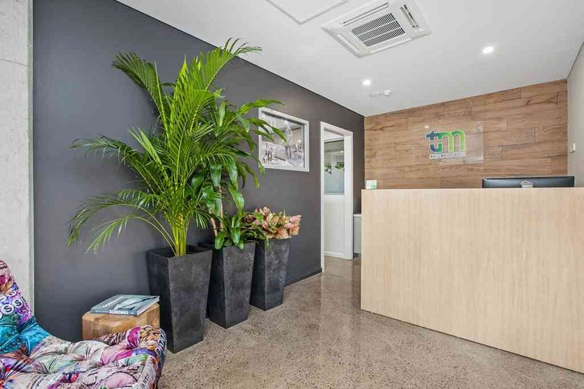 Our office reception area