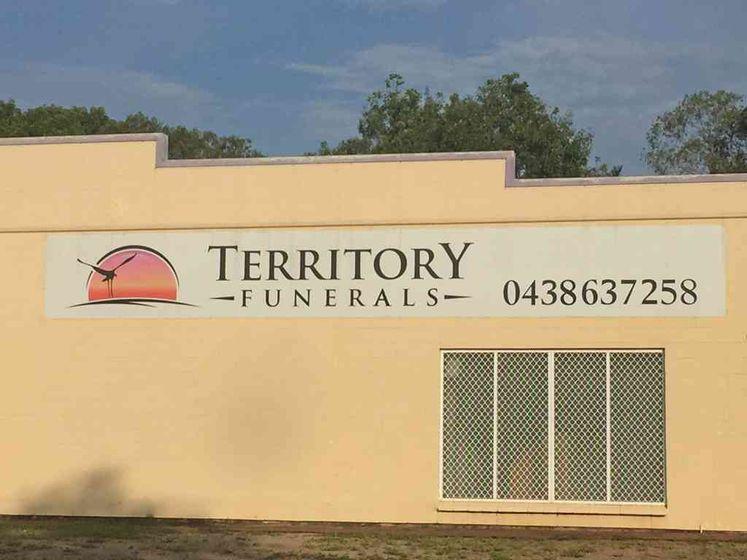 Territory Funerals signage