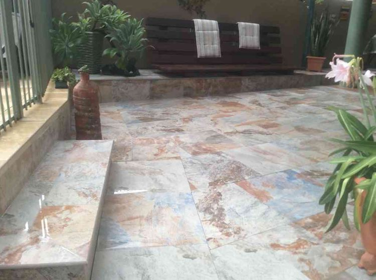 Outdoor paving