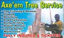 Axe'em Tree Service
