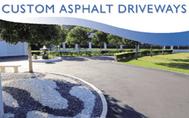 Custom Asphalt Driveways