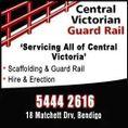 Central Victorian Guard Rail