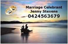 Jenny Stevens–Marriage Celebrant