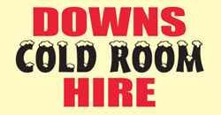 Downs Cold Room Hire