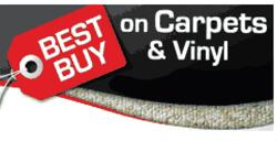 Best Buy on Carpets & Vinyl