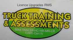 Truck Training and Assessments