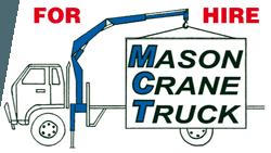 Mason Crane Truck