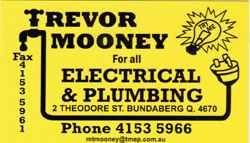 Trevor Mooney Electrical & Plumbing