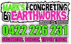 Mark's Concreting & Earthworks