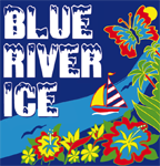 Blue River Ice