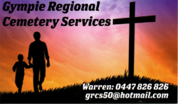Gympie Regional Cemetery Services Graves & Headstones