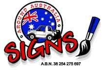 Around Australia Signs