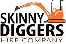 Skinnydiggers Mini Excavator Hire
