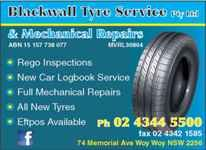 Blackwall Tyre Service Pty Ltd