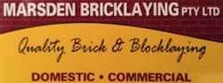 Marsden Bricklaying Pty Ltd