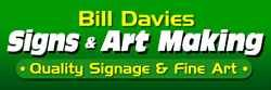 Bill Davies Signs & Art Making