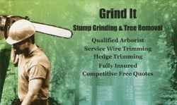 Grind It Stump Grinding & Tree Removal