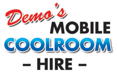 Demo's Mobile Coolroom Hire