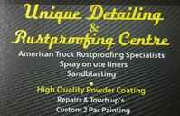 Unique Detailing & Rustproofing Centre