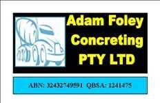 Adam Foley Concreting Pty Ltd