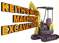 Keith's Mean Machine Excavations