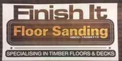 Finish It Floor Sanding