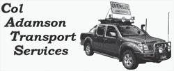 Col Adamson Transport Services