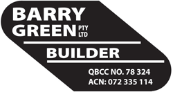 Barry Green Pty Ltd Builder
