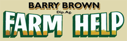 Barry Brown Rural Contracting–Farm Help