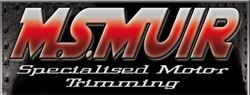 M.S. MUIR Specialised Motor Trimming Motorcycle Seating Specialists