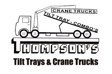 Thompson's Crane Trucks Tilt Tray Combos