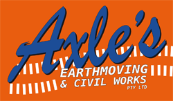 Axle's Earthmoving & Civil Works P/L