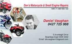 Dan's Motorcycle & Small Engine Repairs