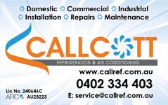 Callcott Refrigeration & Air Conditioning