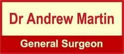 Dr Andrew Martin