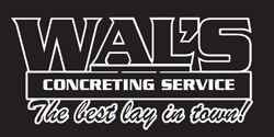 Wal's Concreting Service