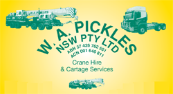W.A. Pickles PTY LTD