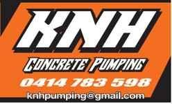 KNH Concrete Pumping