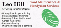 Leo Hill Yard Maintenance & Handyman Services