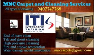 MNC Carpet and Cleaning Services
