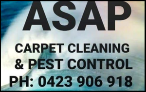 ASAP Carpet Cleaning and Pest Control