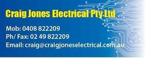 Craig Jones Electrical Pty Ltd
