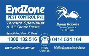 Endzone Pest Control Pty Ltd