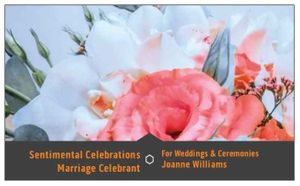 Sentimental Celebrations–Wedding & Ceremonies