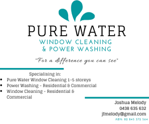 Pure Water Window Cleaning & Power Washing
