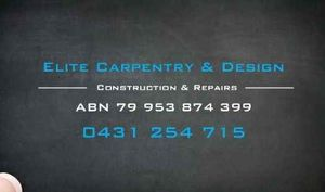 Elite Carpentry & Design