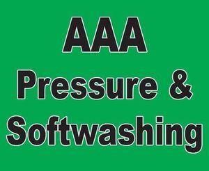AAA Pressure & Softwashing